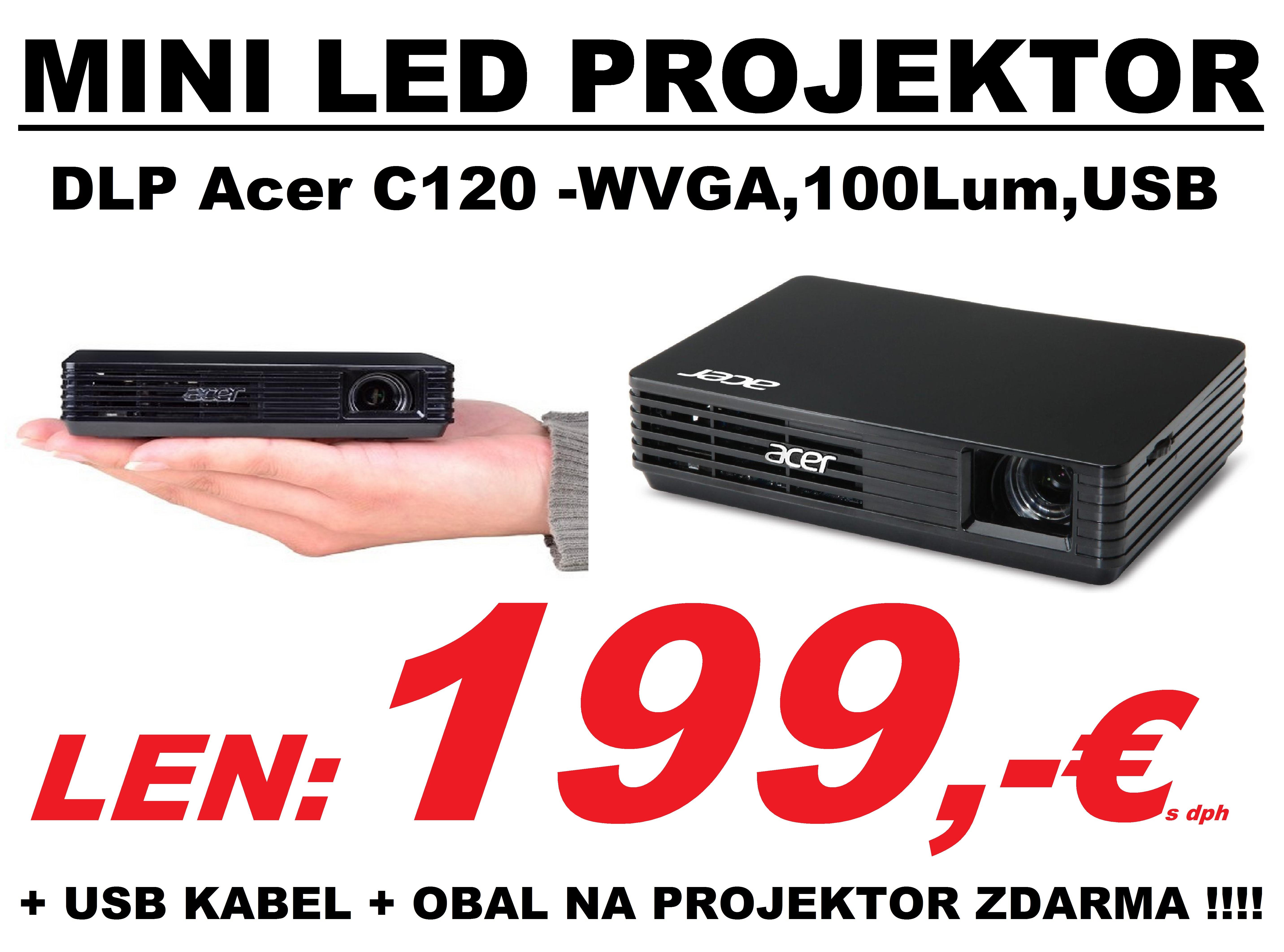 projektor acer led 199
